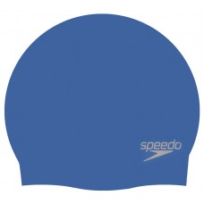 SPEEDO SILICONE CAP ADULTS BLUE