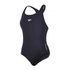 SPEEDO SWIM COSTUME GIRLS ENDURANCE+ MEDALIST NAVY