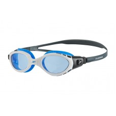 SPEEDO GOGGLES BIOFUSE FLEXISEAL MENS OXIDE GREY/WHITE/BLUE
