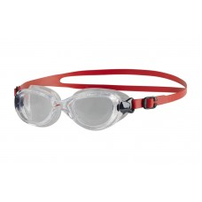 SPEEDO GOGGLES FUTURA CLASSIC JUNIOR LAVA RED/CLEAR