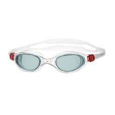 SPEEDO GOGGLES FUTURA PLUS ADULT RED/SMOKE