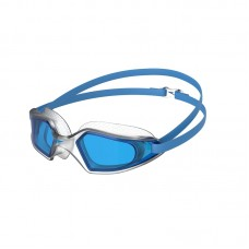SPEEDO GOGGLES HYDROPULSE ADULT-POOL BLUE/CLEAR/BLUE