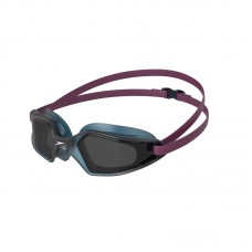 SPEEDO GOGGLES HYDROPULSE ADULT-DEEP PLUM/NAVY/SMOKE